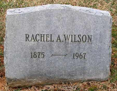 WILSON, RACHEL A. - Howard County, Maryland | RACHEL A. WILSON - Maryland Gravestone Photos