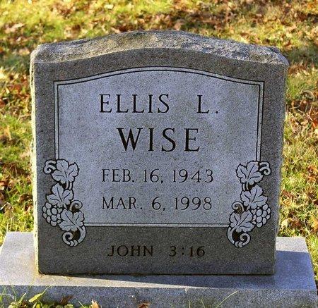 WISE, ELLIS L. - Howard County, Maryland | ELLIS L. WISE - Maryland Gravestone Photos