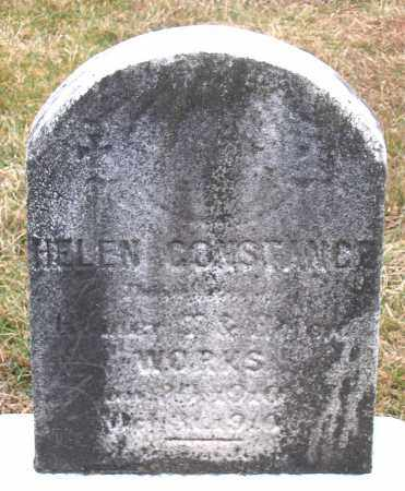 WORKS, HELEN CONSTANCE - Howard County, Maryland | HELEN CONSTANCE WORKS - Maryland Gravestone Photos
