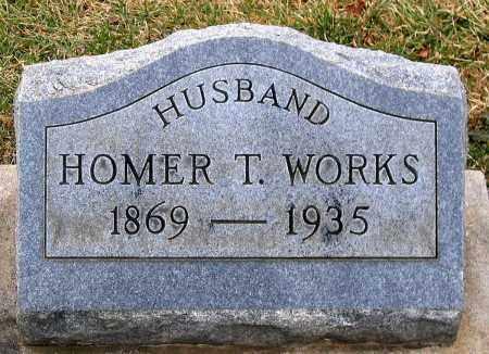 WORKS, HOMER T. - Howard County, Maryland   HOMER T. WORKS - Maryland Gravestone Photos