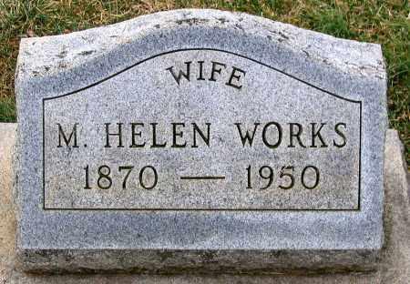 WORKS, M. HELEN - Howard County, Maryland | M. HELEN WORKS - Maryland Gravestone Photos