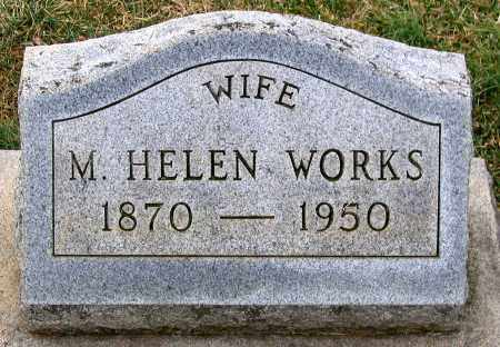 WORKS, M. HELEN - Howard County, Maryland | M. HELEN WORKS - Maryland Gravestone Photos