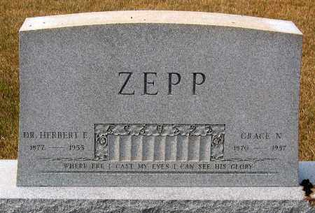 ZEPP, GRACE N. - Howard County, Maryland | GRACE N. ZEPP - Maryland Gravestone Photos