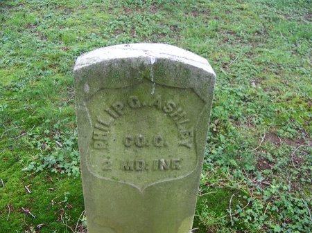 ASHLEY (VETERAN CW), PHILIP G. - Kent County, Maryland | PHILIP G. ASHLEY (VETERAN CW) - Maryland Gravestone Photos
