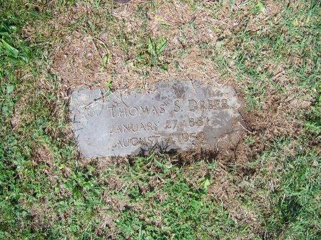 DREER, THOMAS S. - Kent County, Maryland   THOMAS S. DREER - Maryland Gravestone Photos