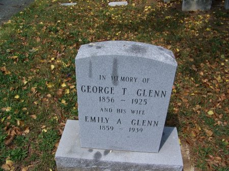 GLENN, EMILY A. - Kent County, Maryland | EMILY A. GLENN - Maryland Gravestone Photos