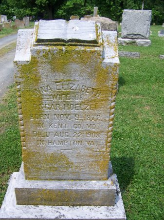 HOELZEL, ANNA ELIZABETH - Kent County, Maryland | ANNA ELIZABETH HOELZEL - Maryland Gravestone Photos
