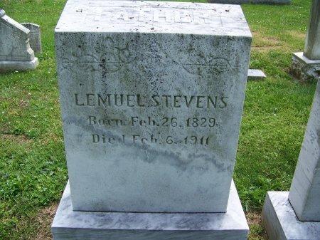 STEVENS, LEMUEL - Kent County, Maryland | LEMUEL STEVENS - Maryland Gravestone Photos