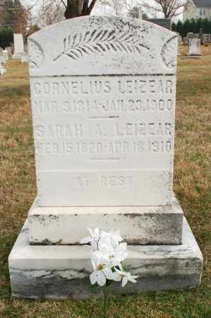 LEIZEAR, SARAH ANN - Montgomery County, Maryland   SARAH ANN LEIZEAR - Maryland Gravestone Photos