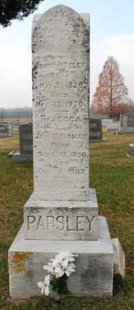 GINGELL PARSLEY, REBECCA - Montgomery County, Maryland   REBECCA GINGELL PARSLEY - Maryland Gravestone Photos