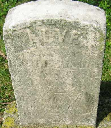 RIGHTER, ALVE - Montgomery County, Maryland | ALVE RIGHTER - Maryland Gravestone Photos