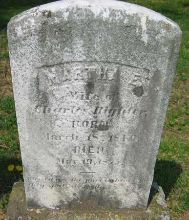 RIGHTER, MARTHA E. - Montgomery County, Maryland | MARTHA E. RIGHTER - Maryland Gravestone Photos