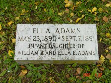 ADAMS, ELLA - Talbot County, Maryland | ELLA ADAMS - Maryland Gravestone Photos