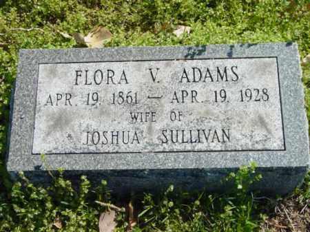 ADAMS, FLORA V. - Talbot County, Maryland | FLORA V. ADAMS - Maryland Gravestone Photos