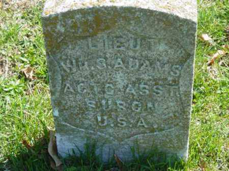 ADAMS, W.S. LIEUT - Talbot County, Maryland   W.S. LIEUT ADAMS - Maryland Gravestone Photos