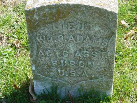 ADAMS, W.S. LIEUT - Talbot County, Maryland | W.S. LIEUT ADAMS - Maryland Gravestone Photos