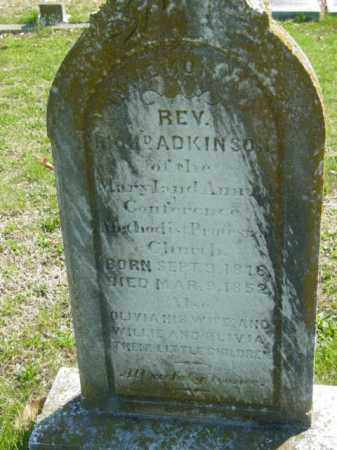 ADKINSON, REV. RICH - Talbot County, Maryland | REV. RICH ADKINSON - Maryland Gravestone Photos