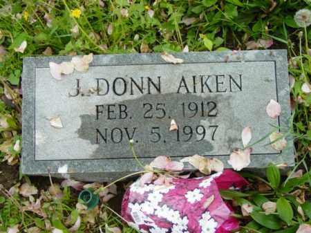 AIKEN, J. DONN - Talbot County, Maryland | J. DONN AIKEN - Maryland Gravestone Photos