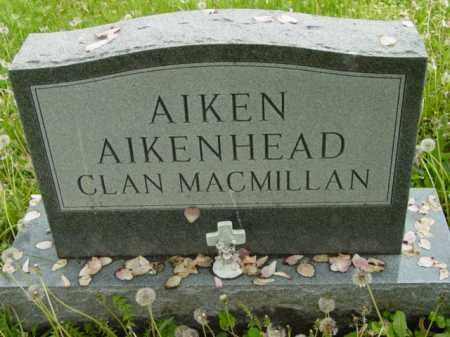 AIKEN, MONUMENT - Talbot County, Maryland   MONUMENT AIKEN - Maryland Gravestone Photos