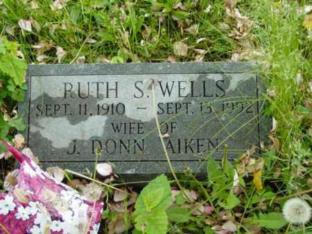 AIKEN, RUTH S. - Talbot County, Maryland | RUTH S. AIKEN - Maryland Gravestone Photos