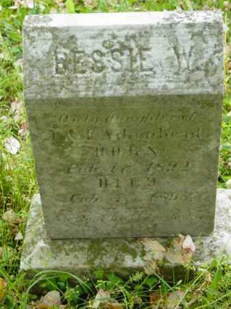 AIKENHEAD, BESSIE W. - Talbot County, Maryland   BESSIE W. AIKENHEAD - Maryland Gravestone Photos
