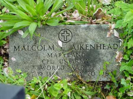 AIKENHEAD, MALCOLM - Talbot County, Maryland | MALCOLM AIKENHEAD - Maryland Gravestone Photos