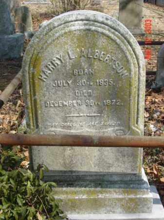 ALBERTSON, HARRY L. - Talbot County, Maryland | HARRY L. ALBERTSON - Maryland Gravestone Photos