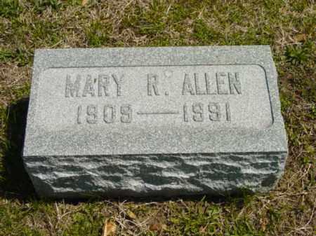 ALLEN, MARY R. - Talbot County, Maryland | MARY R. ALLEN - Maryland Gravestone Photos