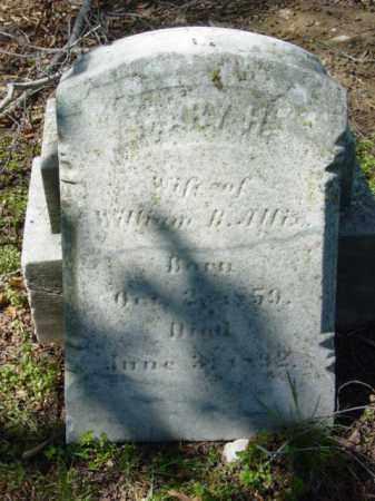 ALLIX, MARY - Talbot County, Maryland   MARY ALLIX - Maryland Gravestone Photos