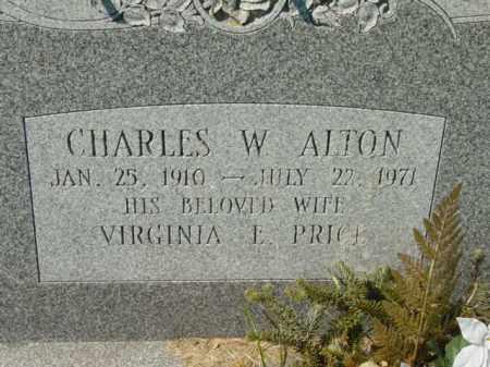 ALTON, VIRGINIA - Talbot County, Maryland | VIRGINIA ALTON - Maryland Gravestone Photos