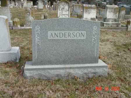 ANDERSON, FAMILY - Talbot County, Maryland | FAMILY ANDERSON - Maryland Gravestone Photos
