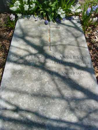 ANDERSON, LARZ FERGUSON - Talbot County, Maryland   LARZ FERGUSON ANDERSON - Maryland Gravestone Photos