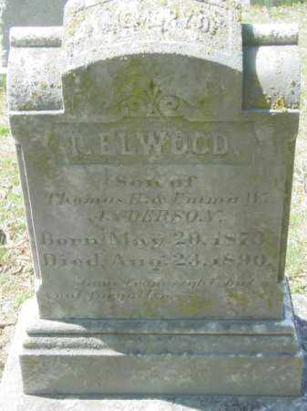 ANDERSON, T. ELWOOD - Talbot County, Maryland   T. ELWOOD ANDERSON - Maryland Gravestone Photos