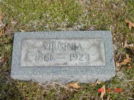ANDERSON, VIRGINIA - Talbot County, Maryland | VIRGINIA ANDERSON - Maryland Gravestone Photos