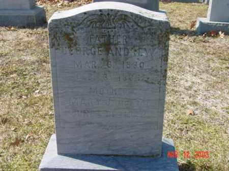 ANDREW, GEORGE - Talbot County, Maryland   GEORGE ANDREW - Maryland Gravestone Photos