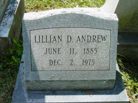 ANDREW, LILLIAN D. - Talbot County, Maryland | LILLIAN D. ANDREW - Maryland Gravestone Photos