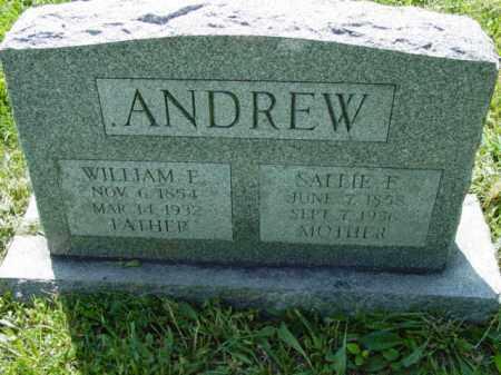 ANDREW, WILLIAM F. - Talbot County, Maryland | WILLIAM F. ANDREW - Maryland Gravestone Photos