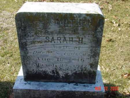 ANDREWS, SARAH H. - Talbot County, Maryland | SARAH H. ANDREWS - Maryland Gravestone Photos