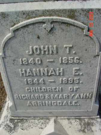 ARRINGDALE, JOHN T. - Talbot County, Maryland | JOHN T. ARRINGDALE - Maryland Gravestone Photos