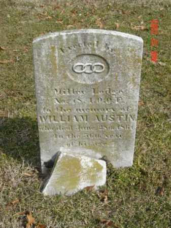 AUSTIN, WILLIAM - Talbot County, Maryland | WILLIAM AUSTIN - Maryland Gravestone Photos