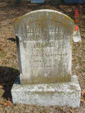 AVERY, JOHN MINEAH - Talbot County, Maryland | JOHN MINEAH AVERY - Maryland Gravestone Photos