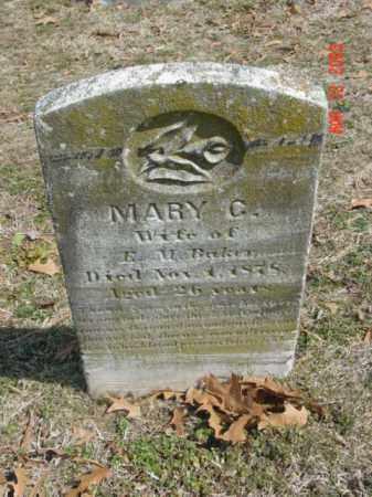 BAKER, MARY C. - Talbot County, Maryland   MARY C. BAKER - Maryland Gravestone Photos