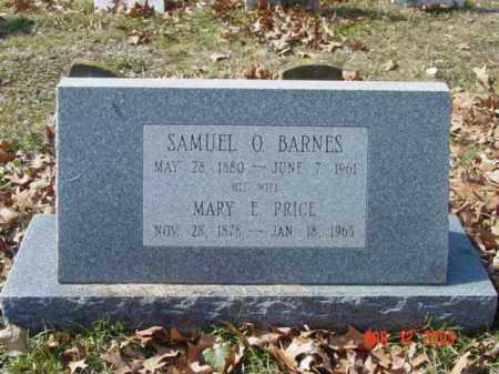 BARNES, MARY E. - Talbot County, Maryland | MARY E. BARNES - Maryland Gravestone Photos
