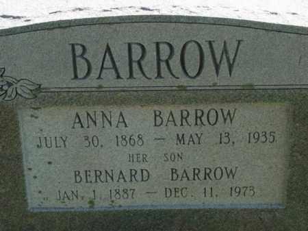 BARROW, BERNARD - Talbot County, Maryland | BERNARD BARROW - Maryland Gravestone Photos