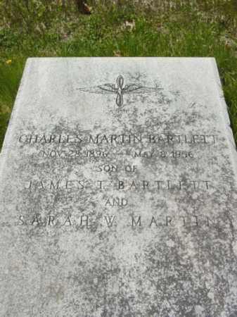BARTLETT, CHARLES MARTIN - Talbot County, Maryland | CHARLES MARTIN BARTLETT - Maryland Gravestone Photos