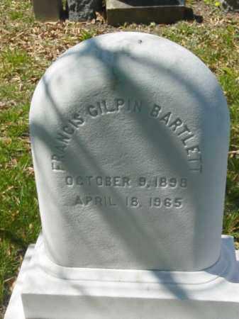 BARTLETT, FRANCIS - Talbot County, Maryland | FRANCIS BARTLETT - Maryland Gravestone Photos