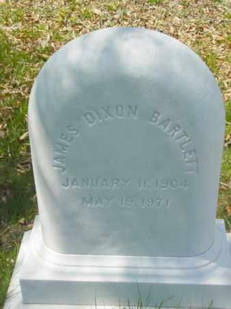 BARTLETT, JAMES DIXON - Talbot County, Maryland | JAMES DIXON BARTLETT - Maryland Gravestone Photos