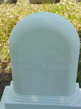 DIXON BARTLETT, MARY - Talbot County, Maryland   MARY DIXON BARTLETT - Maryland Gravestone Photos