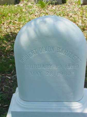 BARTLETT, ROBERT DIXON - Talbot County, Maryland | ROBERT DIXON BARTLETT - Maryland Gravestone Photos