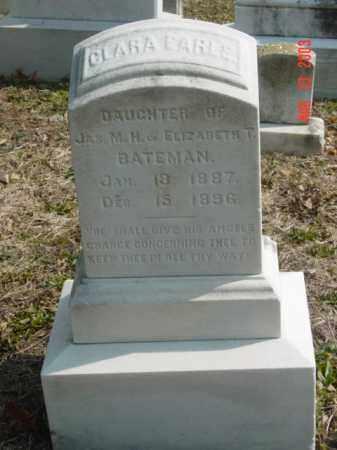 BATEMAN, CLARA EARLE - Talbot County, Maryland | CLARA EARLE BATEMAN - Maryland Gravestone Photos